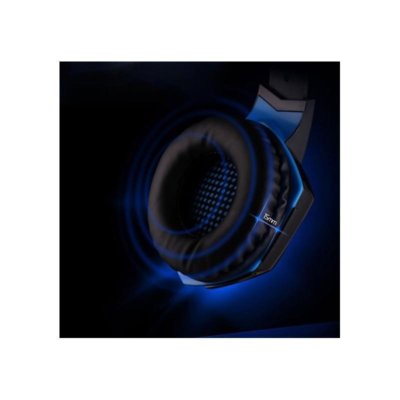 Игровые наушники Kotion Each G2000 Pro Gaming (Original) с микрофоном, шумоподавление, кабель 2.2 м, светодиодная подсветка 185006