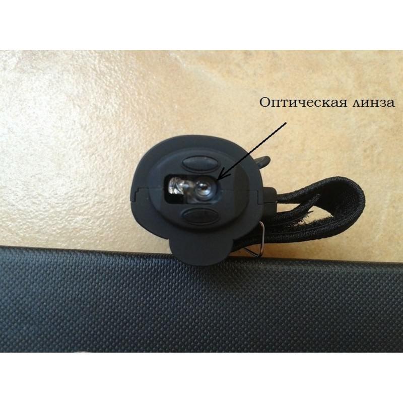 Эргономичная беспроводная мышь-кольцо Ring – оптическая, 1600 dpi, 3 клавиши 193137