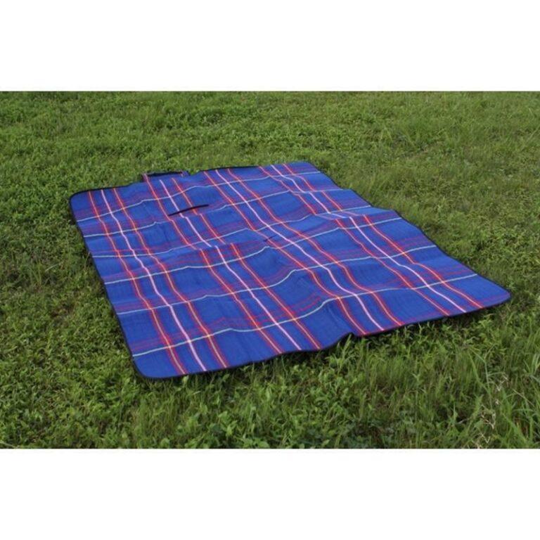 12338 - Кашемировый коврик/плед/одеяло для пикника - водонепроницаемая подкладка, 150 х 200 см, 3 цвета