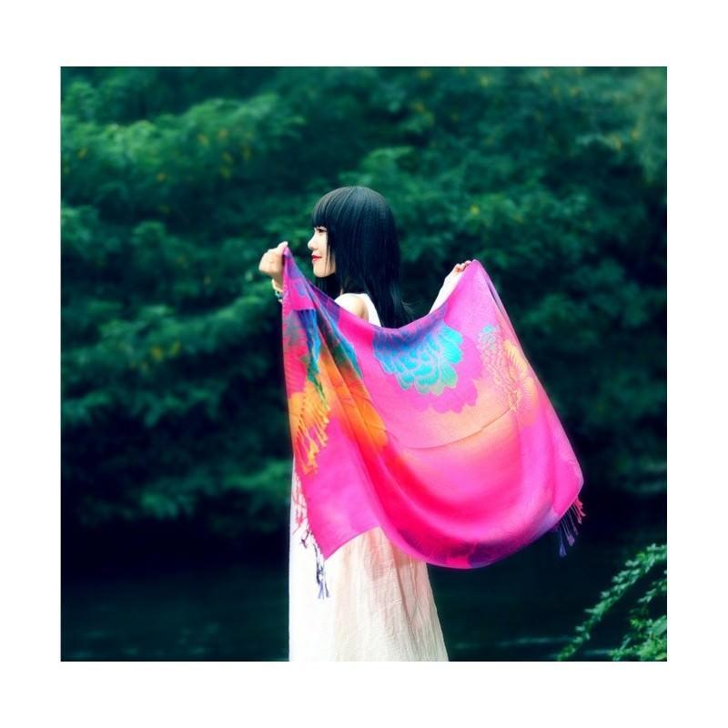 Яркий шарф-палантин Trefille SunDay: 185 х 70 см, 6 расцветок 193210