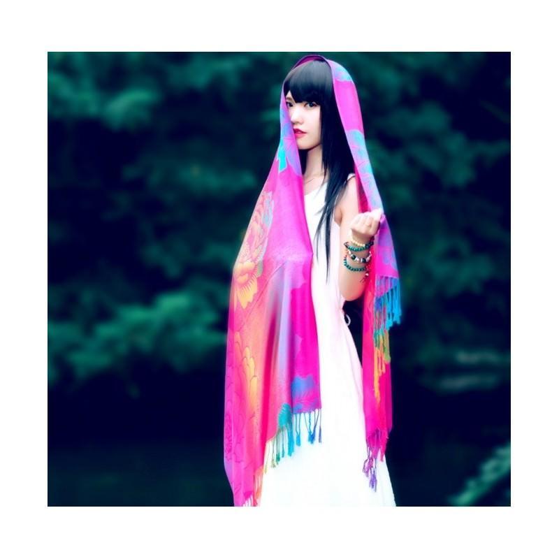 Яркий шарф-палантин Trefille SunDay: 185 х 70 см, 6 расцветок 193212