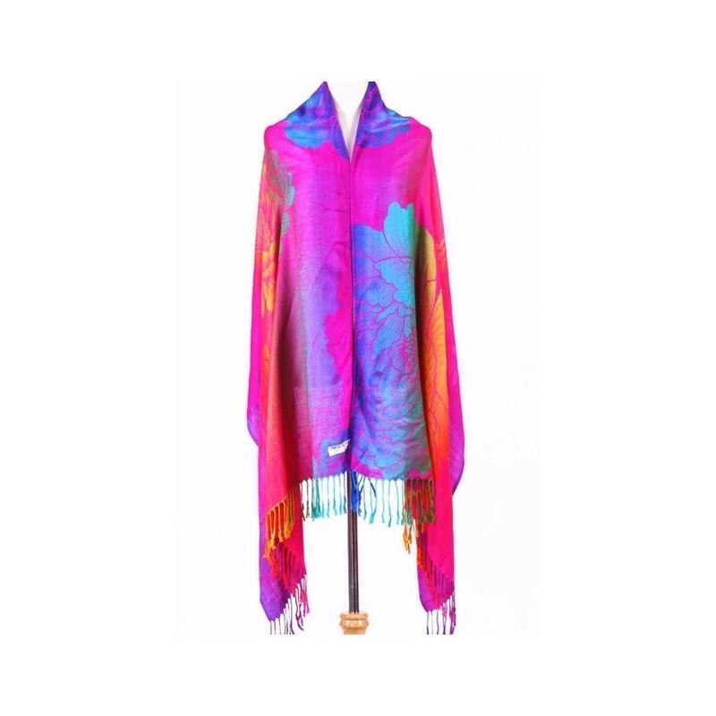 Яркий шарф-палантин Trefille SunDay: 185 х 70 см, 6 расцветок 193218