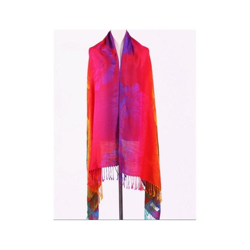 Яркий шарф-палантин Trefille SunDay: 185 х 70 см, 6 расцветок 193220