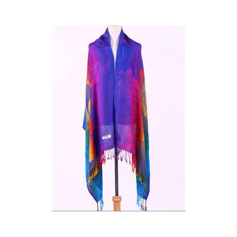 Яркий шарф-палантин Trefille SunDay: 185 х 70 см, 6 расцветок 193221