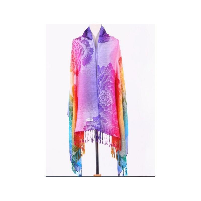Яркий шарф-палантин Trefille SunDay: 185 х 70 см, 6 расцветок 193222