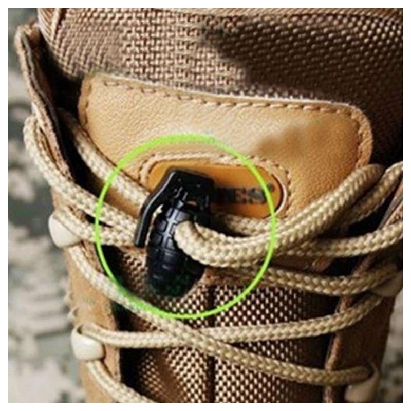 Пряжка-зажим для шнурков Bomb – крепкий пластик, надежная фиксация 193247