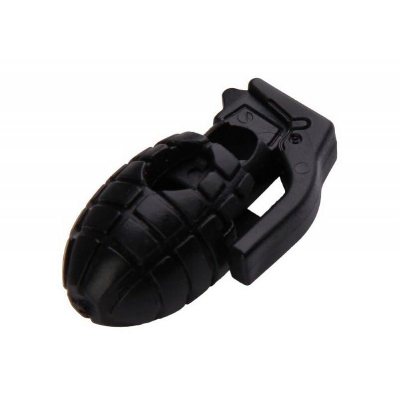 Пряжка-зажим для шнурков Bomb – крепкий пластик, надежная фиксация