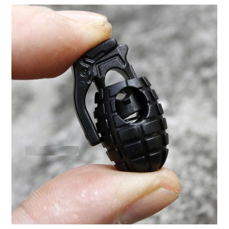 Пряжка-зажим для шнурков Bomb – крепкий пластик, надежная фиксация 193252