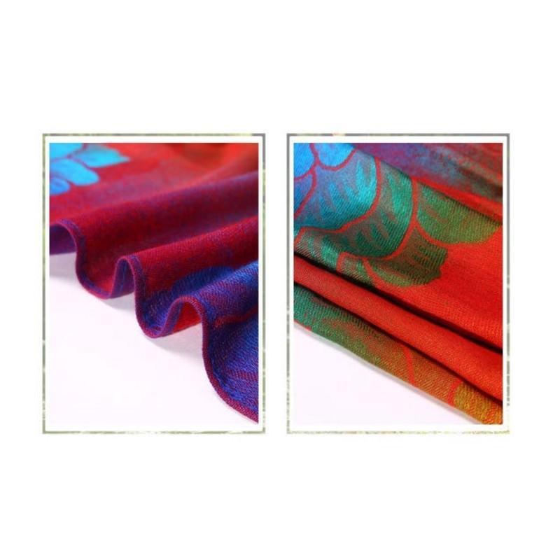 Яркий шарф-палантин Trefille SunDay: 185 х 70 см, 6 расцветок 193230