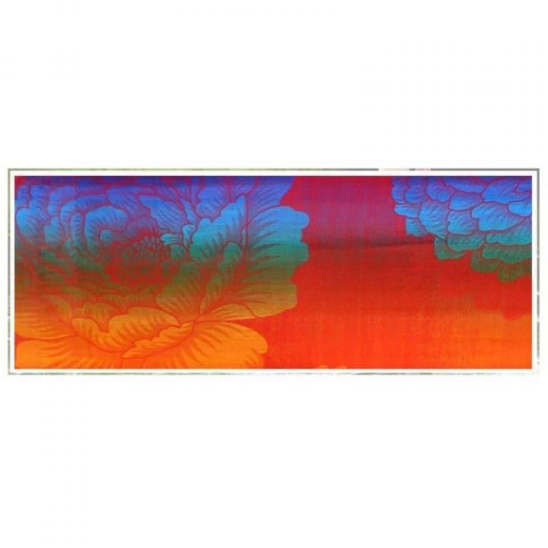 12396 - Яркий шарф-палантин Trefille SunDay: 185 х 70 см, 6 расцветок