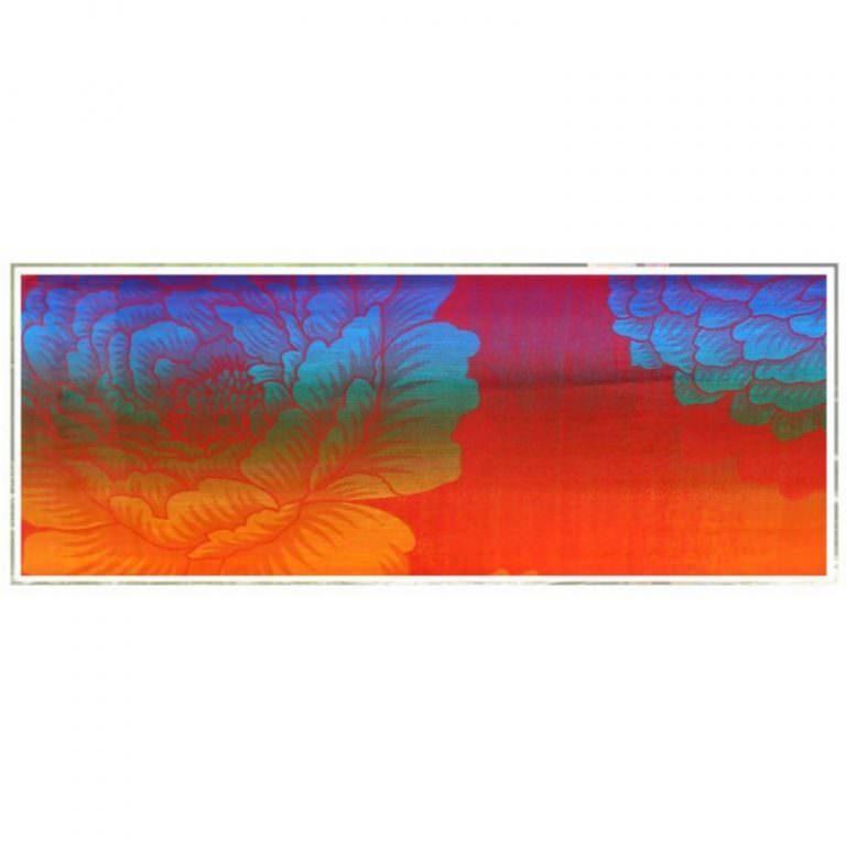12399 - Яркий шарф-палантин Trefille SunDay: 185 х 70 см, 6 расцветок