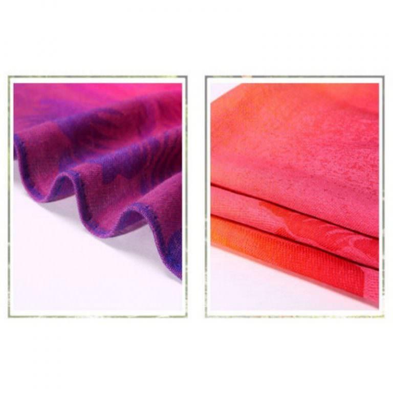 12404 - Яркий шарф-палантин Trefille SunDay: 185 х 70 см, 6 расцветок