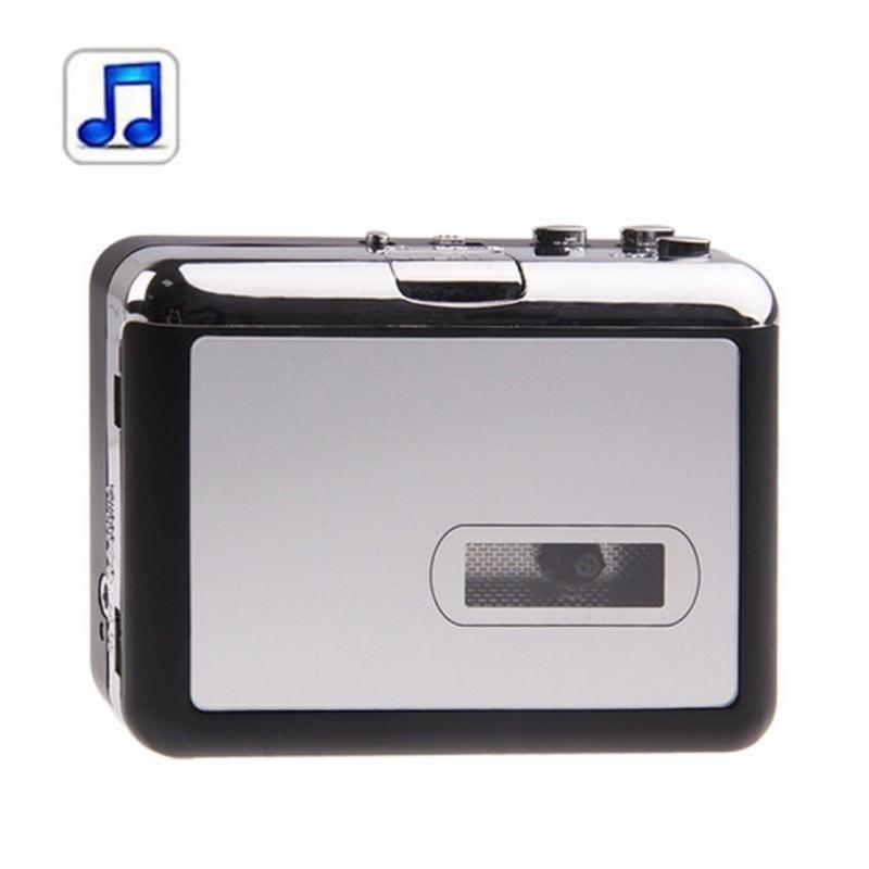 Кассетный плеер-преобразователь в MP3 – автономный с micro-SD, 128 kbps, наушники в комплекте 193263