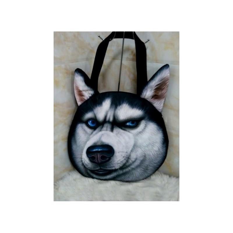 Огромная эпатажная сумка-мешок с 3D-принтом VIPDog 193303
