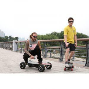 Электрический скейтборд Easy Go с дистанционным управлением для начинающих и детей от 14 лет –  150 Вт, 10000 мАч