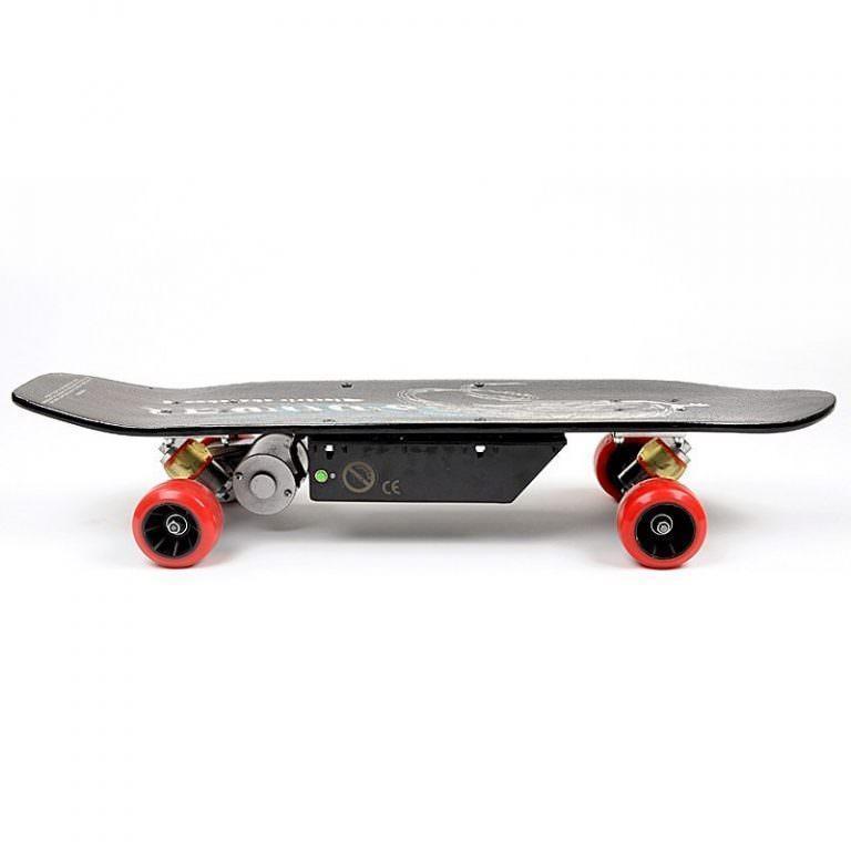 1256 - Электрический скейтборд Easy Go с дистанционным управлением для начинающих и детей от 14 лет – 150 Вт, 10000 мАч