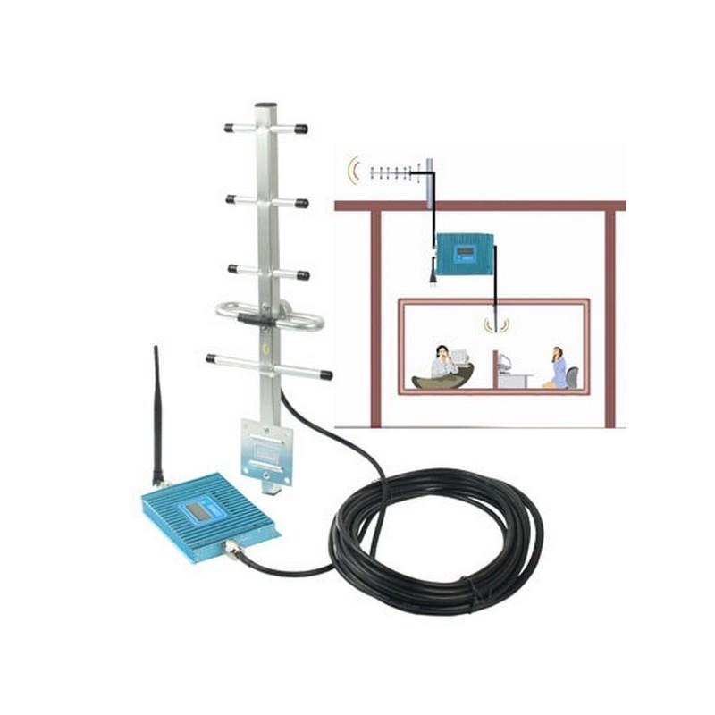 Усилитель сигнала сотовой связи Booster150 – GSM 900, 55 дБ, зона покрытия 150 квадратных метров