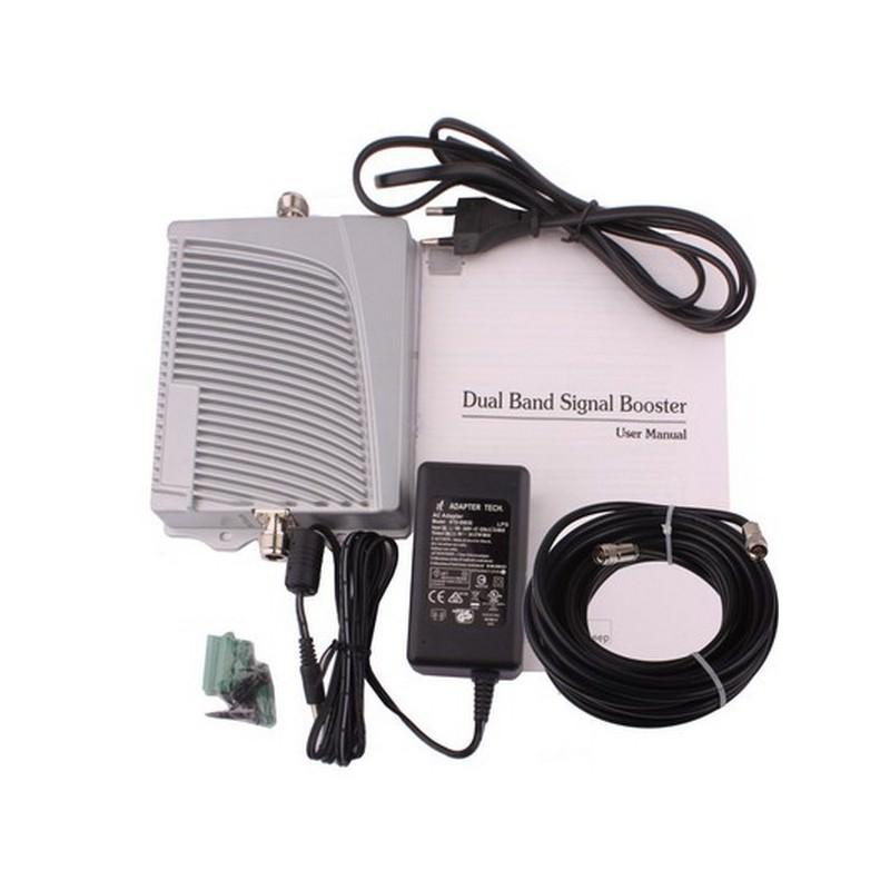 Усилитель сотового сигнала BigBooster – GSM 900, GSM 1800, КУ 50/45, до 800 квадратных метров покрытия 193403