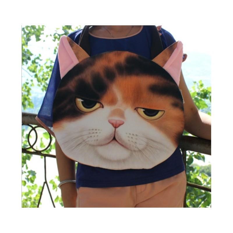 Эпатажные сумки-игрушки MiMi Animals с 3D-принтом Cats 193404