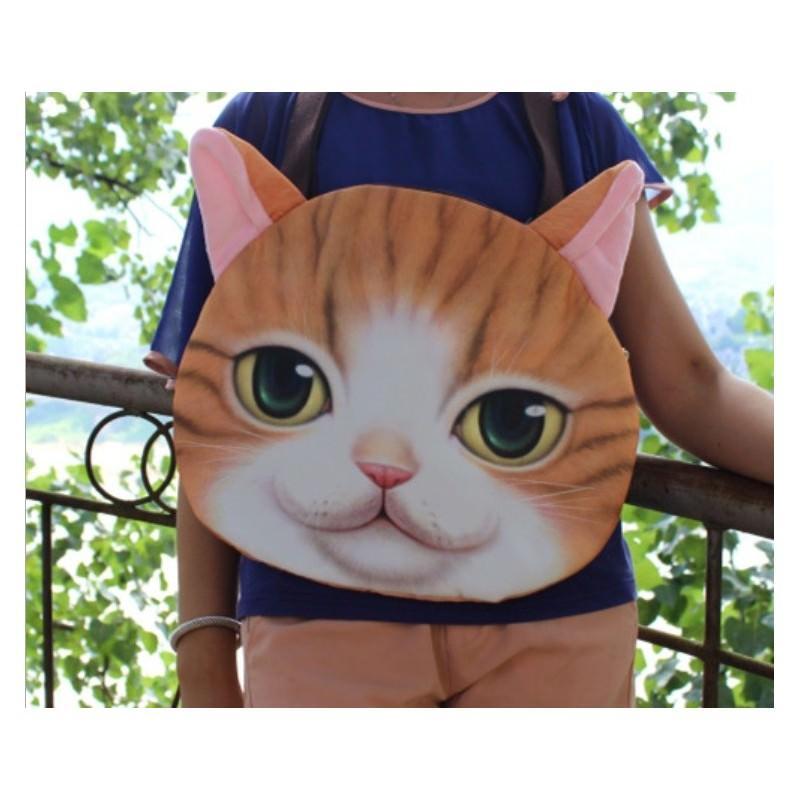 Эпатажные сумки-игрушки MiMi Animals с 3D-принтом Cats 193407