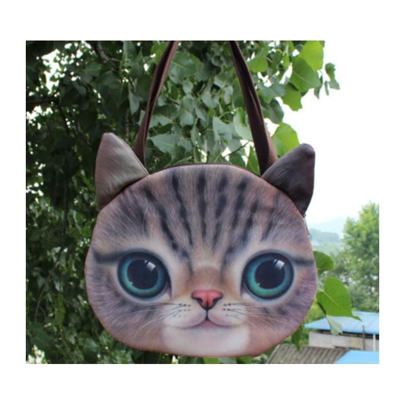 Эпатажные сумки-игрушки MiMi Animals с 3D-принтом Cats 193408