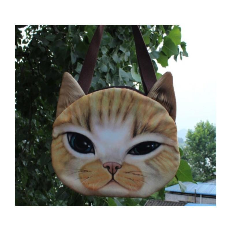 Эпатажные сумки-игрушки MiMi Animals с 3D-принтом Cats 193409
