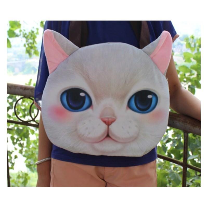 Эпатажные сумки-игрушки MiMi Animals с 3D-принтом Cats 193410