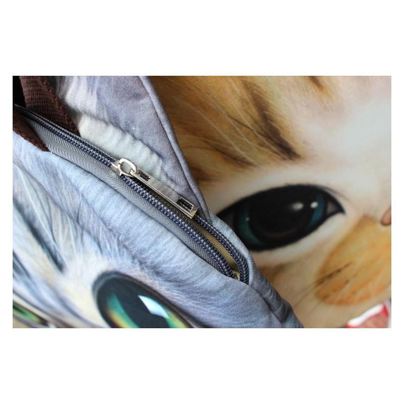 Эпатажные сумки-игрушки MiMi Animals с 3D-принтом Cats 193413