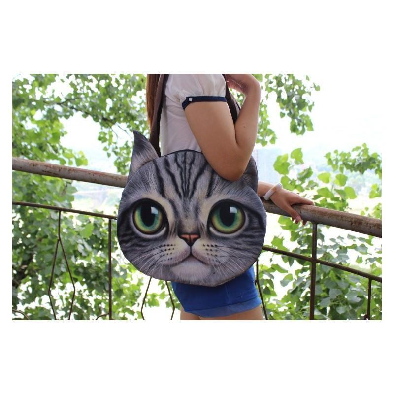 Эпатажные сумки-игрушки MiMi Animals с 3D-принтом Cats 193417