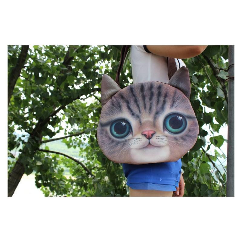Эпатажные сумки-игрушки MiMi Animals с 3D-принтом Cats 193418