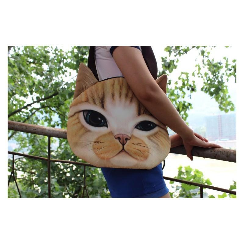 Эпатажные сумки-игрушки MiMi Animals с 3D-принтом Cats 193419