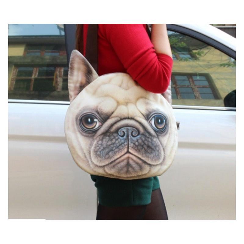 Эпатажные сумки-игрушки MiMi Animals с 3D-принтом Dogs 193430