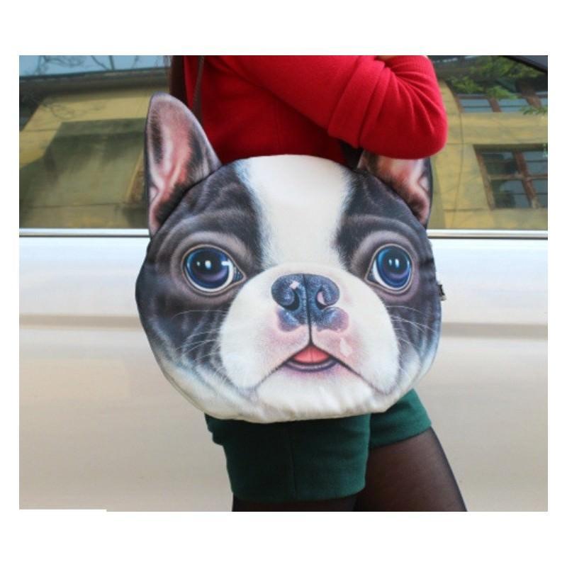 Эпатажные сумки-игрушки MiMi Animals с 3D-принтом Dogs 193431