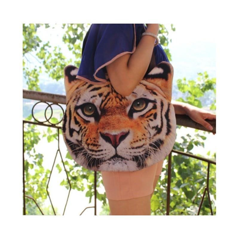 Эпатажные сумки-игрушки MiMi Animals с 3D-принтом Wild