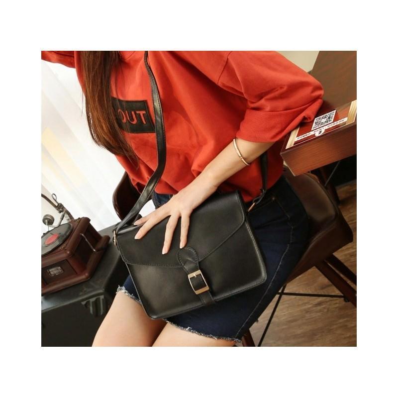 Женская сумочка-конверт Bursa Fero Lingvo - Черный