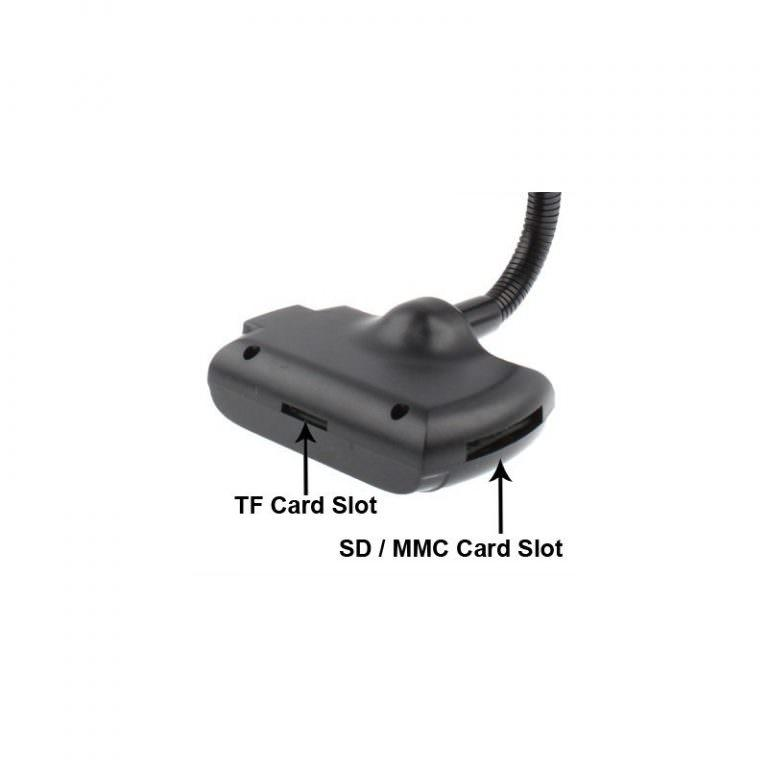 1294 - Автомобильная Bluetooth-гарнитура для громкой связи MP3-4110 – MP3-плеер, FM-модулятор, LCD экран, USB, SD/MMC/Micro SD