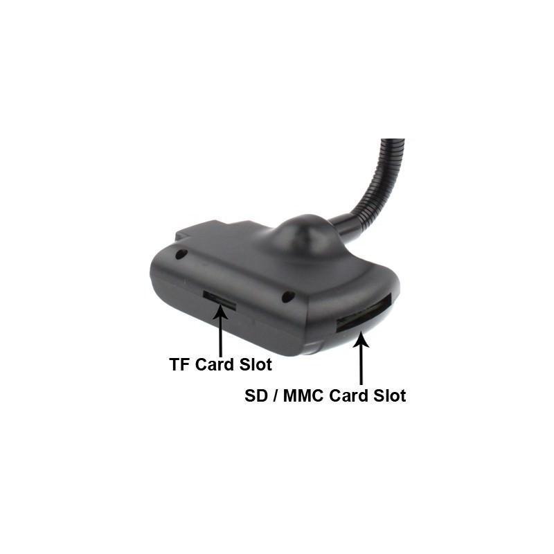 Автомобильная Bluetooth-гарнитура для громкой связи MP3-4110 – MP3-плеер, FM-модулятор, LCD экран, USB, SD/MMC/Micro SD 184328