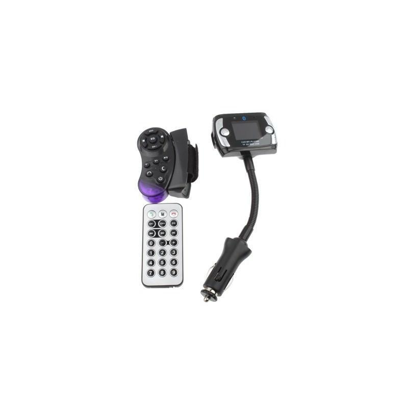 Автомобильная Bluetooth-гарнитура для громкой связи MP3-4110 – MP3-плеер, FM-модулятор, LCD экран, USB, SD/MMC/Micro SD 184330