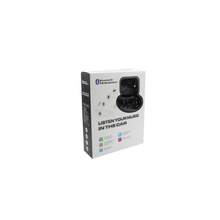 1297 - Автомобильная Bluetooth-гарнитура для громкой связи MP3-4110 – MP3-плеер, FM-модулятор, LCD экран, USB, SD/MMC/Micro SD