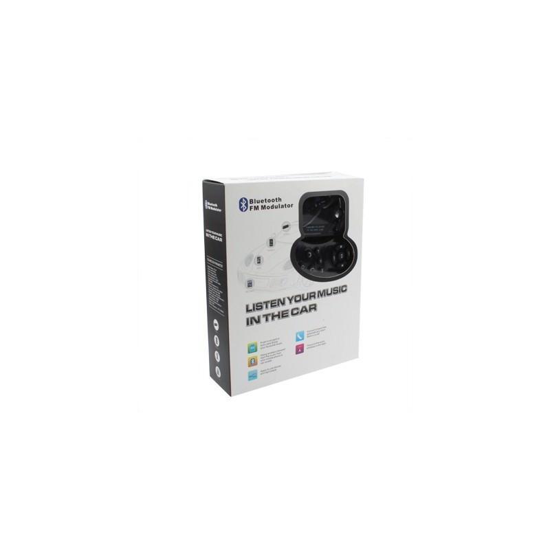 Автомобильная Bluetooth-гарнитура для громкой связи MP3-4110 – MP3-плеер, FM-модулятор, LCD экран, USB, SD/MMC/Micro SD 184331
