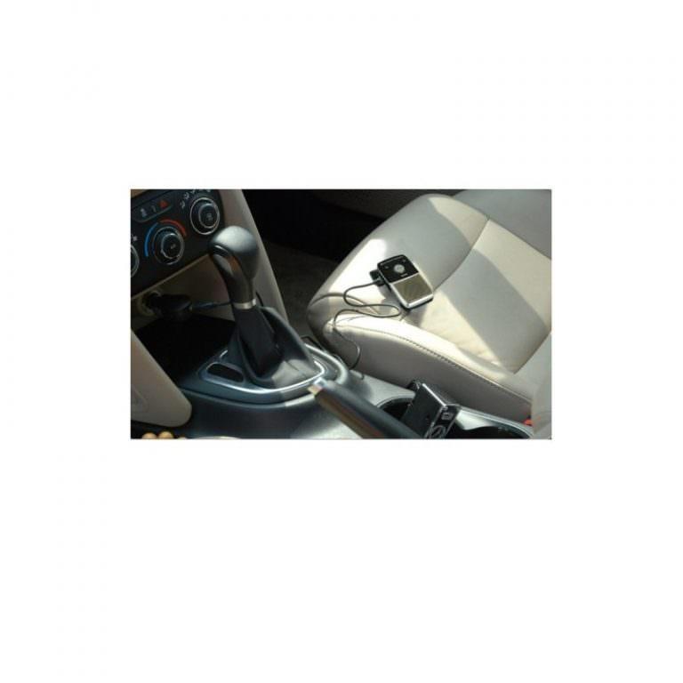 1309 - Автомобильный комплект для громкой связи на 2 телефона с солнечной панелью T-1903 –,присоски и зарядное устройство
