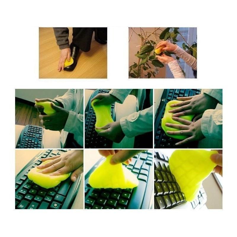 Гель для чистки клавиатур и рифлёных поверхностей Lizun Magic Cleaning 193841