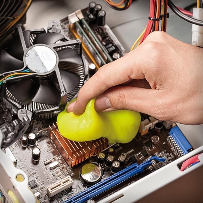 Гель для чистки клавиатур и рифлёных поверхностей Lizun Magic Cleaning 193843