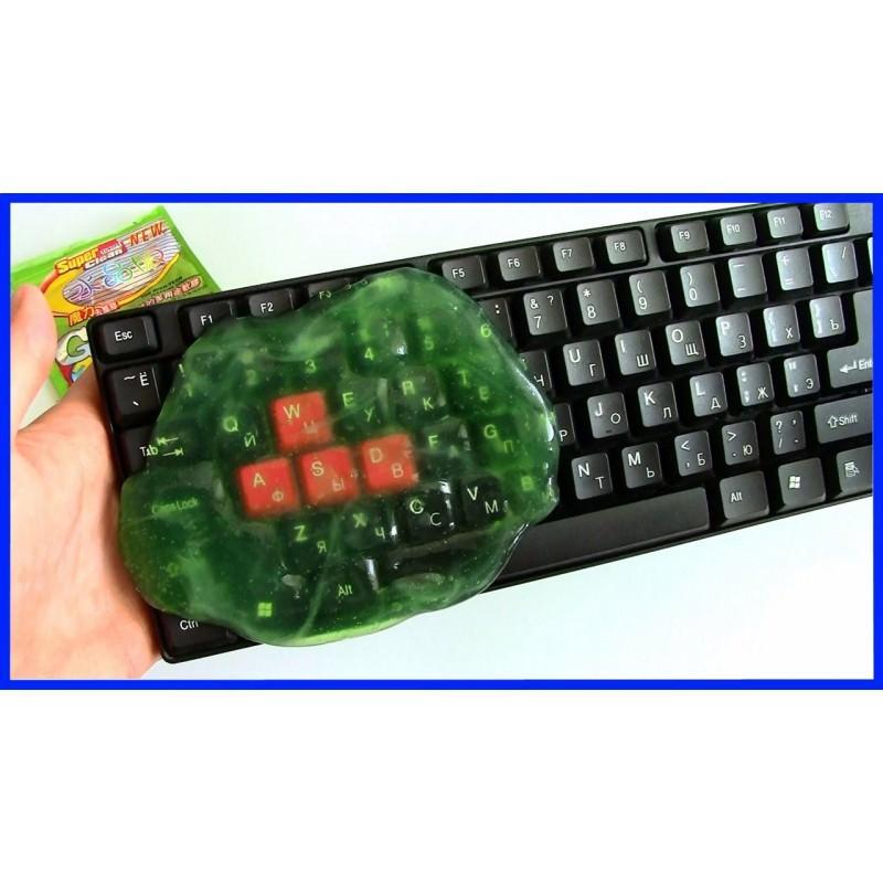 Гель для чистки клавиатур и рифлёных поверхностей Lizun Magic Cleaning 193849