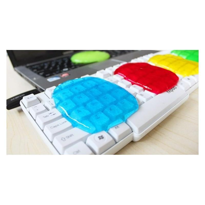 Гель для чистки клавиатур и рифлёных поверхностей Lizun Magic Cleaning