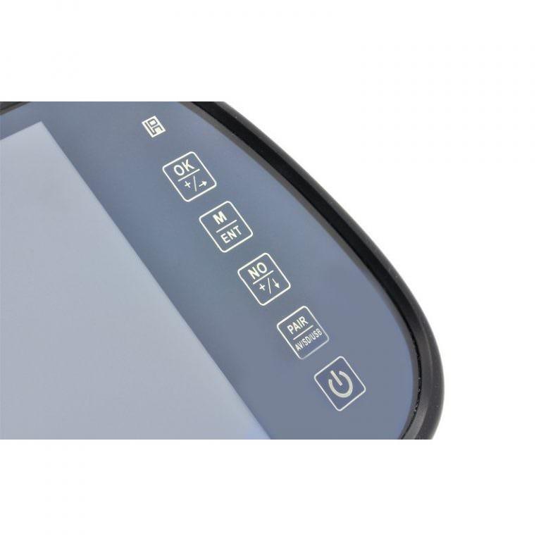 1313 - Многофункциональный 7-дюймовый монитор на зеркало заднего вида – Bluetooth-гарнитура, MP4-плеер, поддержка карт SD
