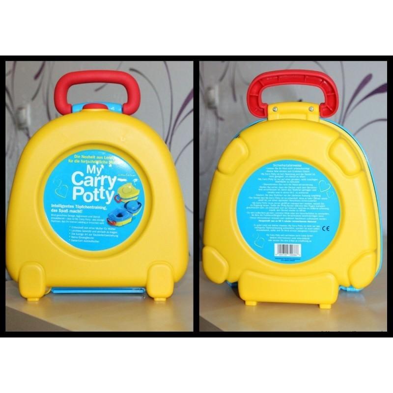 13154 - Портативный дорожный горшок My Carry Potty Becute