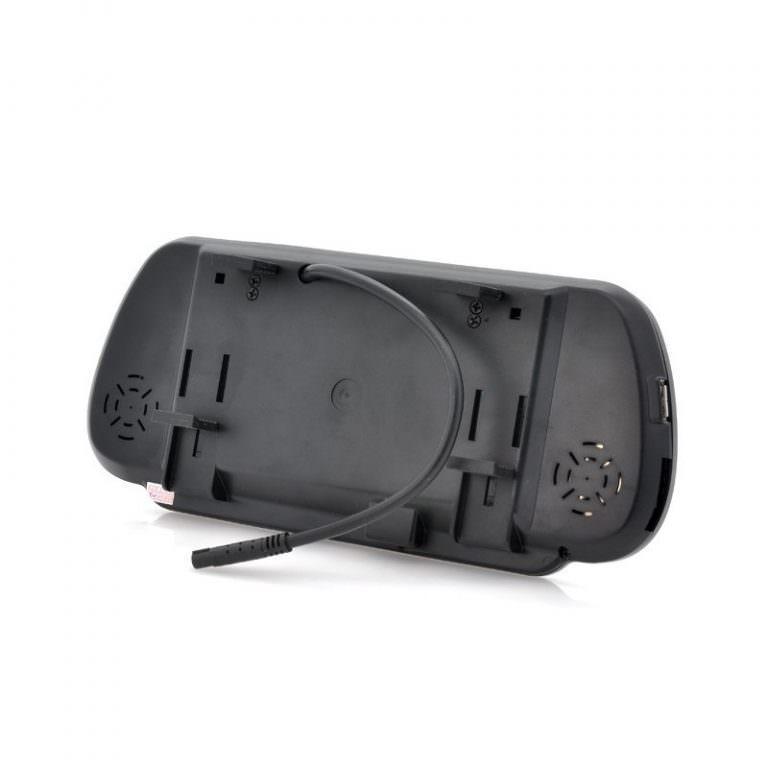 1317 - Многофункциональный 7-дюймовый монитор на зеркало заднего вида – Bluetooth-гарнитура, MP4-плеер, поддержка карт SD