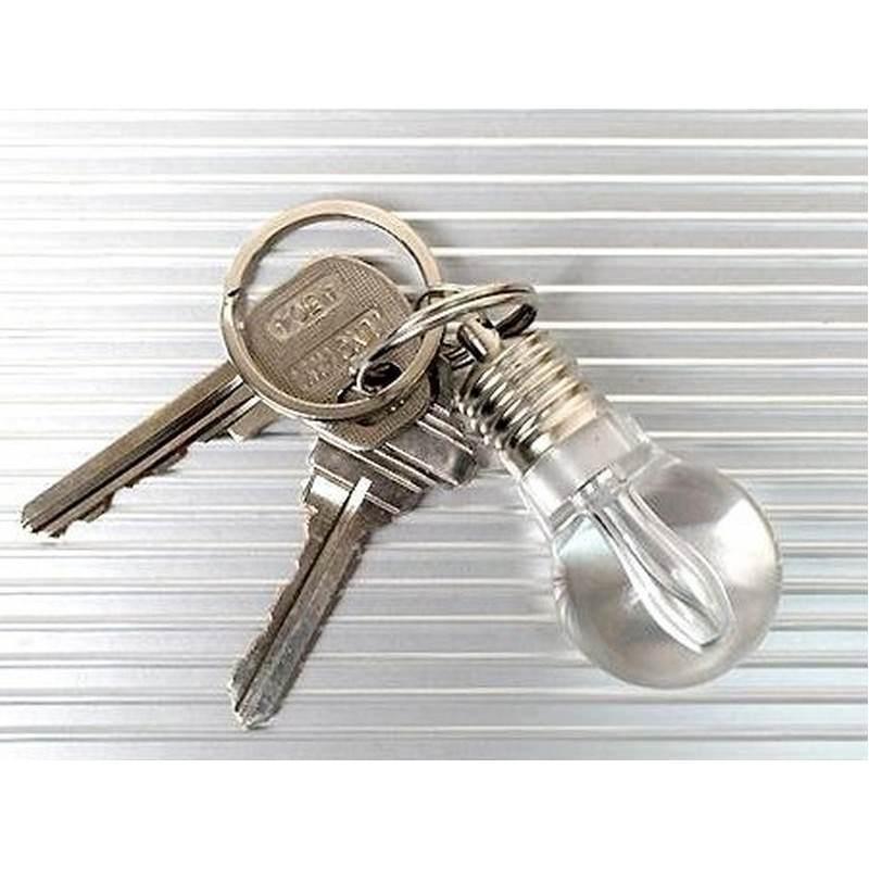 Светодиодный брелок для ключей – прочный пластик, несколько цветов вспышки, до 4-х часов непрерывной работы