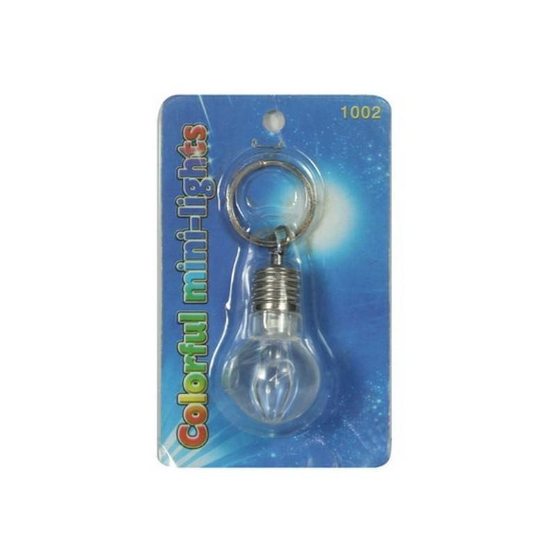 Светодиодный брелок для ключей – прочный пластик, несколько цветов вспышки, до 4-х часов непрерывной работы 193906